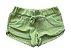 Shorts MINI VIDA Infantil Verde em Plush - Imagem 1