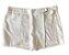 Saia Shorts SIBERIAN Feminino Branco - Imagem 1