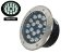 Luminária de chão Balizador de embutir LED 18W Branco frio a Prova d' água  - Imagem 1