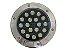 Luminária de chão Balizador de embutir LED 18W Branco frio a Prova d' água  - Imagem 2