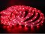 Mangueira de LED Redonda Vermelha Por Metro - Imagem 1