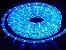Mangueira de LED Redonda Azul Por Metro - Imagem 1
