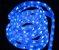 MANGUEIRA LED AZUL ESPECIAL ICE LIGHT CORRUGADA - Imagem 3