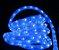 MANGUEIRA LED AZUL ESPECIAL ICE LIGHT CORRUGADA - Imagem 1