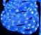 MANGUEIRA LED AZUL ESPECIAL ICE LIGHT CORRUGADA - Imagem 7