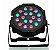 Canhão Refletor Led RGB 54 Leds - DMX - Jogo Luz Iluminação - Imagem 1