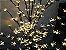 Árvore Cerejeira LED preta com flores 110cm Branco Quente - Imagem 2