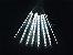 Tubo LED Snow Fall Sequencial com 8 Tubos 50CM Branco Frio Bivolt - Imagem 1