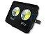 Refletor Holofote De LED Com Lente 100W Branco Frio IP65 - Imagem 3