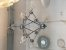 Pendente Metal e Vidro Cromado E27×6 - Imagem 1