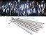 Tubo LED Snow Fall Individual 1 Metro Branco Frio Bivolt - Imagem 1