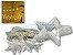 Cascata Sequencial de Estrelas 138 LEDS com 8 Funções Branco Quente 127v M/F - Imagem 1