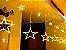 Cascata Sequencial de Estrelas 138 LEDS com 8 Funções Branco Quente 127v M/F - Imagem 2