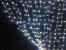 Cortina de LED Fixo 500 LEDs Fio Transparente 3x2,5 metros Branco Frio 127V - Imagem 1