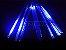 Tubo LED Snow Fall Individual 60cm Azul Bivolt - Imagem 1