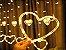 Cascata Sequencial de Corações 138 LEDS com 8 Funções Branco Morno 220V - Imagem 4