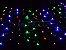 Rede 320 LEDs Fio Branco 2,5x2 Metros colorida 110V  - Imagem 2