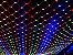 Rede 320 LEDs Fio Branco 2,5x2 Metros colorida 110V  - Imagem 1