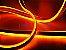 Mangueira Neon de LED Dupla 5 Metros Laranja 12V - Imagem 5
