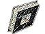 PLAFON QUADRADO 35CM CRISTAL LED 32W 3000K BIVOLT - Imagem 3