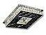 PLAFON QUADRADO 35CM CRISTAL LED 24W 3000K BIVOLT - Imagem 2