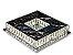 PLAFON QUADRADO 35CM CRISTAL LED 24W 3000K BIVOLT - Imagem 4
