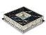 PLAFON QUADRADO 35CM CRISTAL LED 24W 6000K BIVOLT - Imagem 4