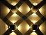 Arandela Branca LED 12W 4 fachos de Luz Branco Quente 3000K Bivolt - Imagem 5