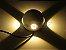 Arandela Branca LED 12W 4 fachos de Luz Branco Quente 3000K Bivolt - Imagem 4