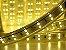 Mangueira chata dupla LED 12,5W/M Branco Quente com silicone por metro 127V - Imagem 5