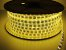Mangueira chata dupla LED 12,5W/M Branco Quente com silicone por metro 127V - Imagem 7