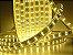Mangueira chata dupla LED 12,5W/M Branco Quente com silicone por metro 127V - Imagem 4