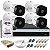 KIT CFTV INTELBRAS 4 CANAIS BULLET&DOME 720P DVR INTELBRAS HD SEAGATE 1TB ACESSORIOS - Imagem 1