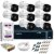 KIT CFTV INTELBRAS 8 CANAIS BULLET&DOME 720P DVR INTELBRAS HD SEAGATE 1TB ACESSORIOS - Imagem 1