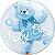 "BUBBLE BABY BOY 22"" QUALATEX - Imagem 1"