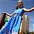 Vestido de Festa Infantil Temática da Frozen - Imagem 4