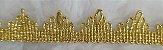 Passamanaria Dourada ou Prateada - 20 mm - REF: 7310 - (Venda por metro) - Imagem 2
