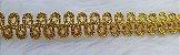 Passamanaria Dourada - 12 mm - REF: 1264 - (Venda por metro) - Imagem 2