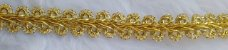 Passamanaria Dourada - 11 mm - REF: 0018 - (Venda por metro) - Imagem 3