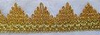 Passamanaria Dourada - 40 mm -ref. 1004 - (Venda por metro) - Imagem 5