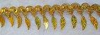 Passamanaria Dourada - 52 mm - Com pingente folha- (Venda por metro) - Imagem 3