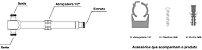 DIVISOR SPLITTER 1:2 800-2500MHZ -120DBC VHT - Imagem 3
