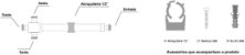 DIVISOR SPLITTER 1:3 800-2500MHZ -120DBC VHT - Imagem 2