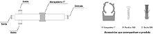 DIVISOR SPLITTER 1:3 700-2700MHZ -140DBC IP65 VHT - Imagem 2