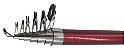 Vara de Pesca para Molinete 210cm 20 lbs fibra de vidro - Imagem 2