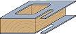 FRESA DE WIDEA PARA CORTAR E FURAR 6X18+18MM CMT 71606111 - Imagem 3
