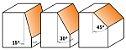 FRESA DE WIDEA PARA CHANFRO 30º 24X12MM CMT 70424011 - Imagem 2