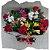 Buquê 06 Rosas (Vermelhas) com Alstroemérias - Imagem 1