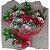 Buquê 12 Rosas (Vermelhas) Eu te Amo Mais que Rosas! - Imagem 1