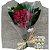 Ramalhete Toque de Amor composto por 12 rosas vermelhas - Imagem 1